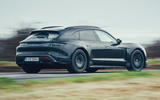 98 Porsche Taycan Cross Turismo prototype drive hero rear