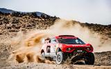 98 Prodrive BRX Dakar rally dust