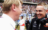 98 racing lines Whitmarsh return with Mika