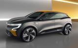 Renault Megane eVision concept official images - studio side