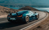 98 Rimac Nevera 2021 official reveal tracking rear