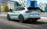 Skoda Enyaq official reveal images - tracking rear