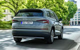 98 Skoda Kodiaq MY2021 facelift official images tracking tracking rear
