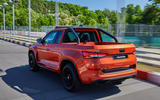 Skoda Mountiaq concept first drive review - hero rear