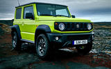 Suzuki Jimny 2018 first drive review static front