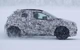 98 Toyota Aygo camo spy images side