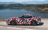 Toyota Supra 2019 prototype first drive review static side