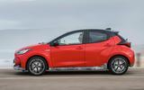 2020 Toyota Yaris prototype drive - hero side