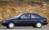 98 used buying guide Ford Escort XR3i tracking side