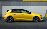 98 Vauxhall Astra 2022 official images static side