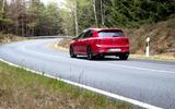 2020 Volkswagen Golf GTI first ride - hero rear