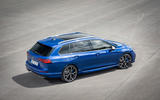 98 Volkswagen Golf R Estate 2021 official reveal static rear