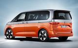 98 Volkswagen Multivan T7 2021 official images hero rear