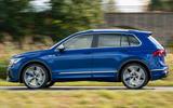 98 Volkswagen Tiguan R 2021 official images panning