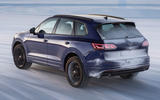 Volkswagen Touareg R 2020 official reveal images - tracking rear