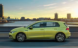 2020 Volkswagen Golf Mk8 official press - hero side