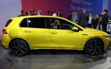 2020 Volkswagen Golf mk8 official reveal - side