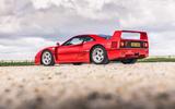 Ferrari F40 - stationary side