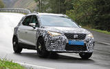 2022 Seat Arona spy images - tracking front