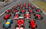 70 years of Formula One - decades of Ferrari
