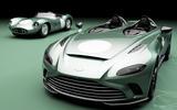 99 Aston Martin V12 Speedster DBR1 spec lead