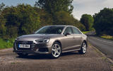 Audi A4 35 TFSI 2019 UK first drive review - static front