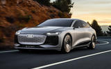 99 Audi A6 E tron Concept official tracking front