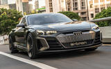 Audi E-tron GT concept 2020 prototype first drive review - hero front