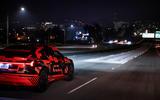 Audi E-tron Sportback prototype matrix headlights - lead