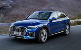 Audi Q5 Sportback 2020 official images - hero front