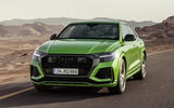 Audi RS Q8 2020 official reveal photos - tracking front