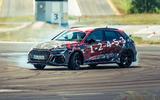 99 Audi RS3 2021 prototype ride hero front