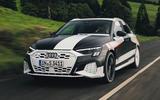 Audi S3 2020 prototype drive - hero front