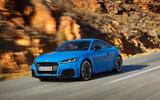Audi TT RS 2019 facelift - official press images - hero front