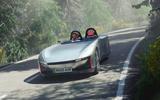 99 Aura electric speedster concept 2021 reveal lead