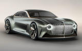 Bentley EXP 100 GT Concept official images - hero front