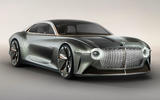Bentley EXP 100 GT concept hero front