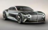 Bentley EXP 100 GT concept hero front