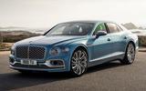 99 Bentley Flying Spur Mulliner official reveal front