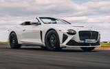 99 Bentley Mulliner Bacalar prototype drive 2021 hero front