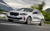 BMW 1 Series 128ti official reveal - tracking front