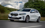 BMW 1 Series 128ti prototype 2020 first drive review - hero front