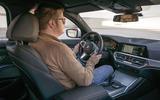 BMW 3 Series 320d Sport Line 2019 first drive review - Matt Saunders driving