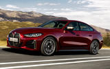 99 BMW 4 Series Gran coupe 2021 official reveal images hero front