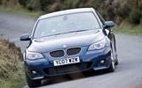 BMW 5 Series E60 road test rewind - hero front