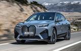 99 BMW iX prototype ride 2021 hero front
