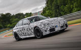 2020 BMW M3 prototype first drive - hero front