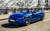 99 BMW M4 Convertible 2021 official reveal hero front