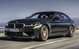99 BMW M5 CS 2021 official reveal hero front