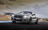2019 BMW M8 prototype ride - hero front